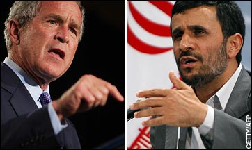 Bush &Ahmadinejad